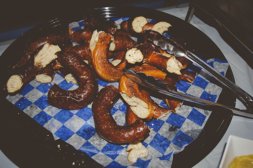 german food german themed party oktoberfest pretzel appetizers