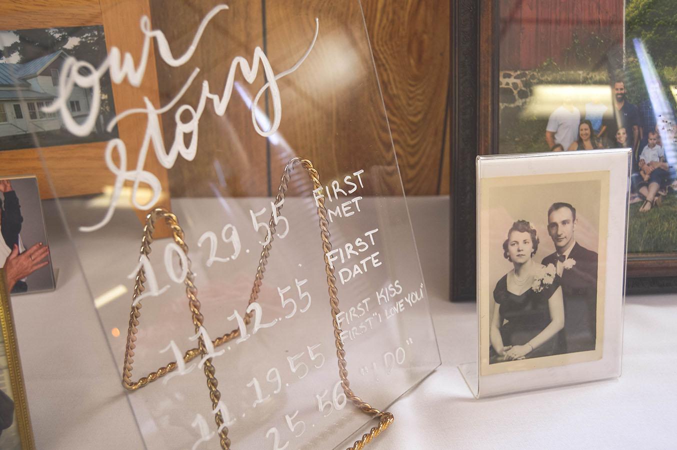 custom calligraphy writing wedding calligraphy signage wisconsin