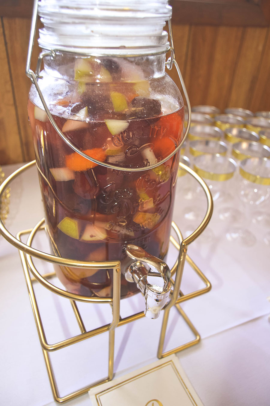 sangria station beverage ideas party ideas madison wisconsin