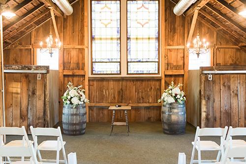 ceremony floral blooms wisconsin wedding
