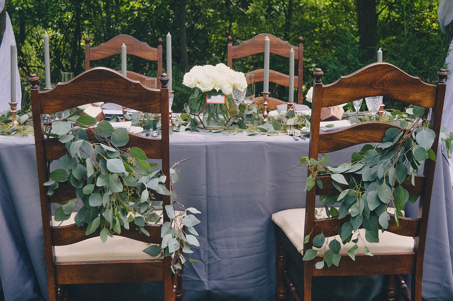 - WEDDING IN THE WOODS