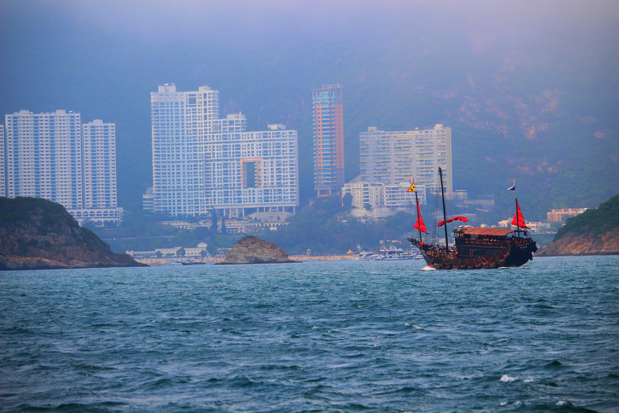 The Aqua Luna in Repulse Bay