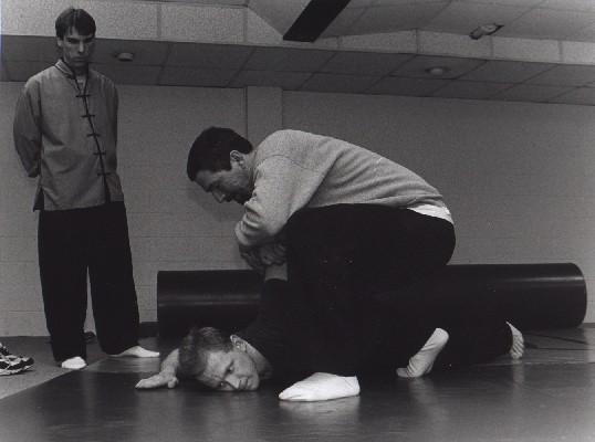 Chin Na class. Averill's Martial Arts. circa 1999