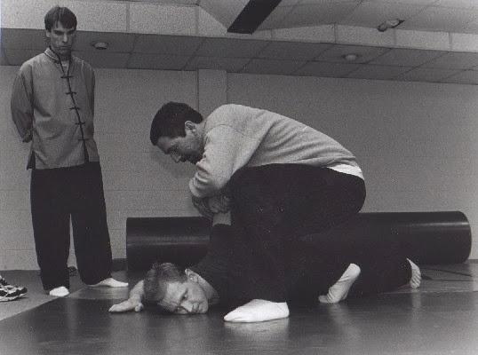 Qín Ná (Capture and Seize 擒拿) training - circa 2000