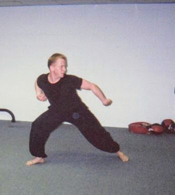 Mantis boxing form circa 2000.