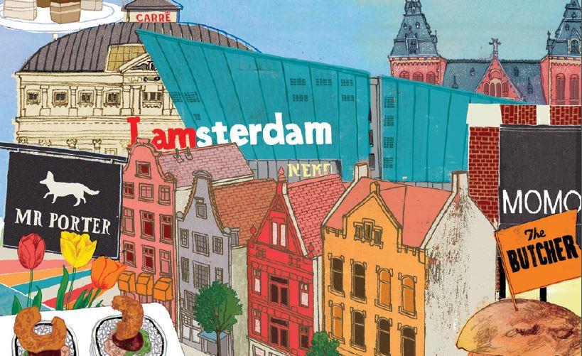 - Voor de The Amsterdam Cookbook heb ik de fotografie verzorgd.Bij zo'n 35 deelnemende restaurants de sfeerfoto's gemaakt van het interieur, personeel en ambiance en per restaurant de foto van het gerecht/receptuur.