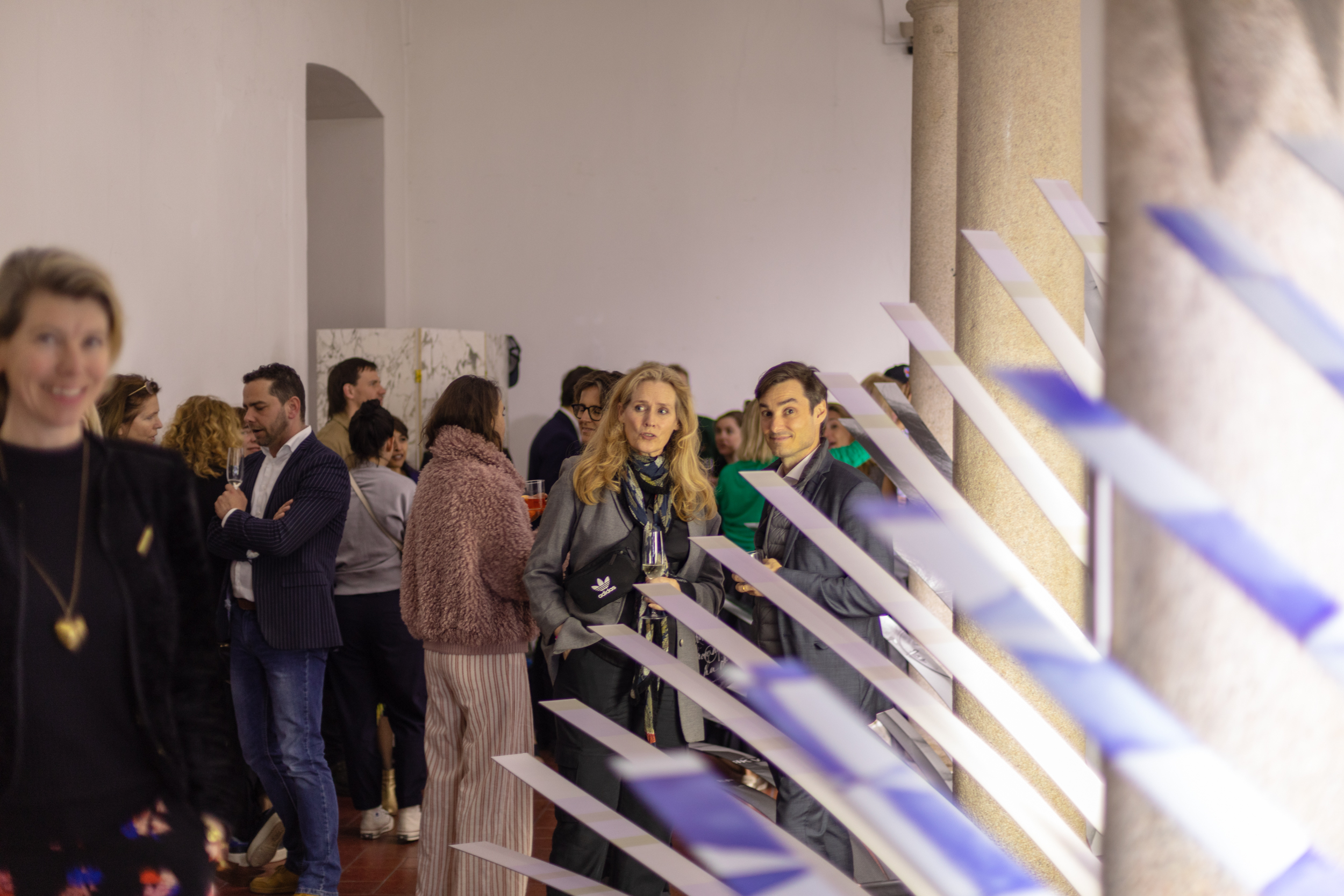 Cocktail party | Geomterics Wallpaper | NLXL Milan 2019-38.jpg