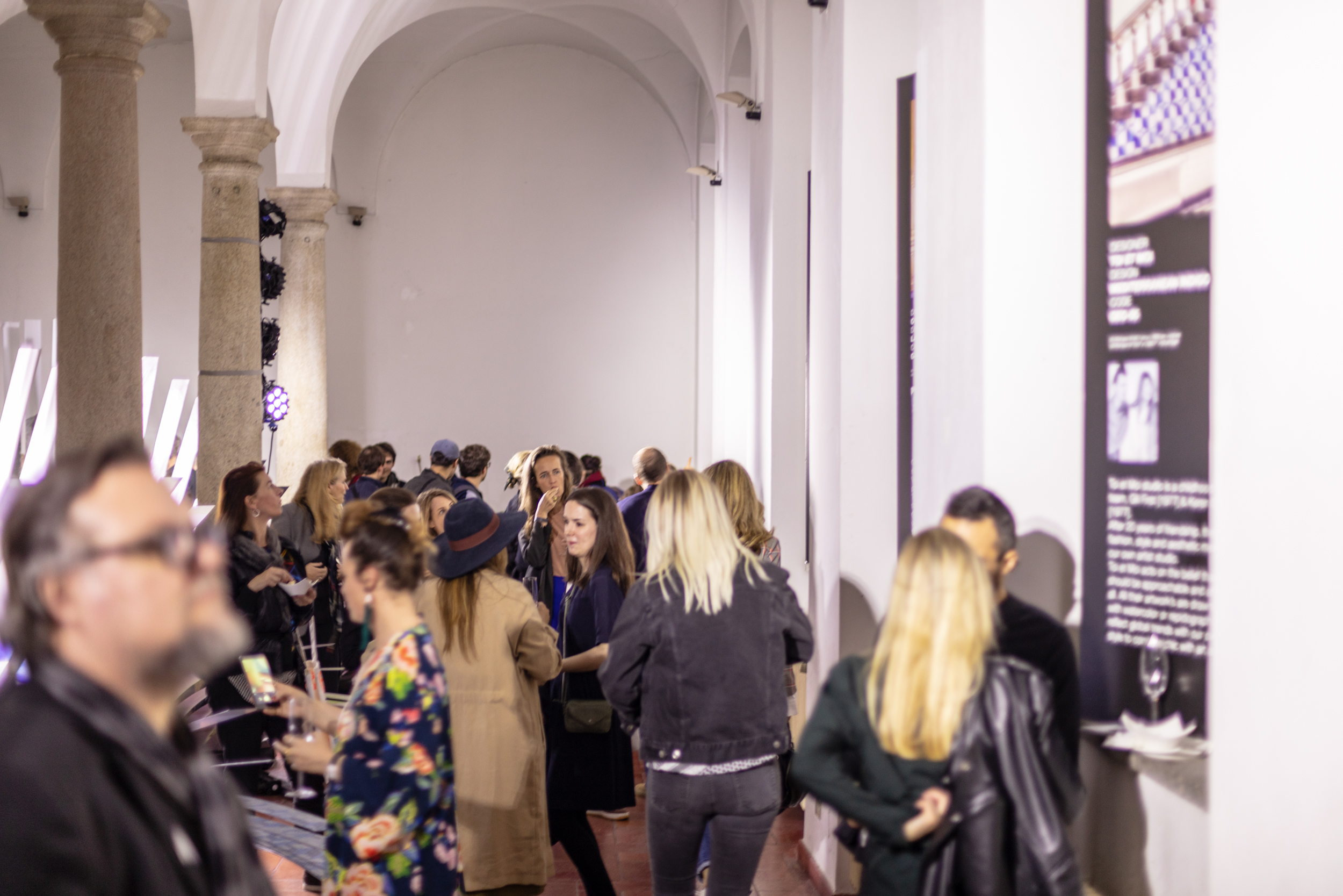 Cocktail party | Geomterics Wallpaper | NLXL Milan 2019-39.jpg