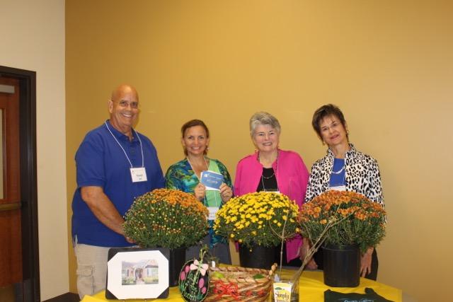 October Door Prize Winners LtoR: Randal Bell, Kristy Casey Deal, Judy Belt and Penny Johnson