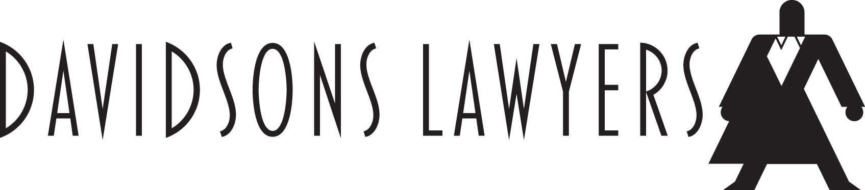 Davidsons Lawyers Logo Text with Figure, NO Pen, BLACK.jpg
