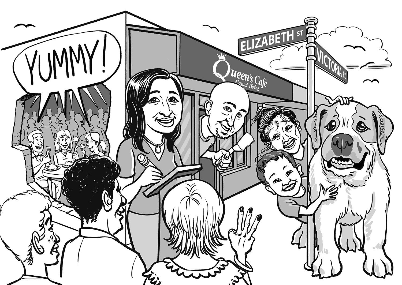 Margaret's Queens Cafe Caricature VER06 1500.jpg