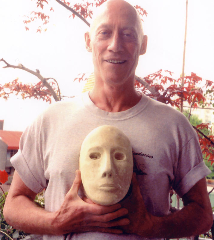 Ian Wallace Co-creater of the Neutral Mask, with the original mold