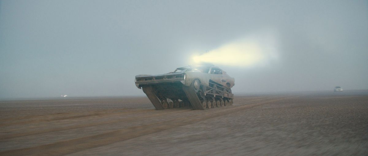 Day for Night shot from Movie - Mad Max - Before Grading