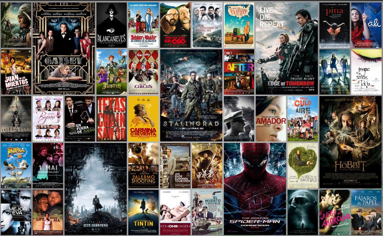 Hollywood movies graded in SGO MISTIKA