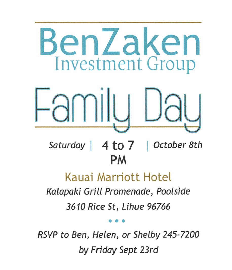 Kauai Family Day