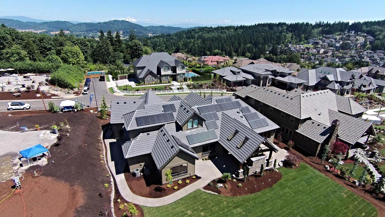 18kW Residential Solar - Portland, Oregon