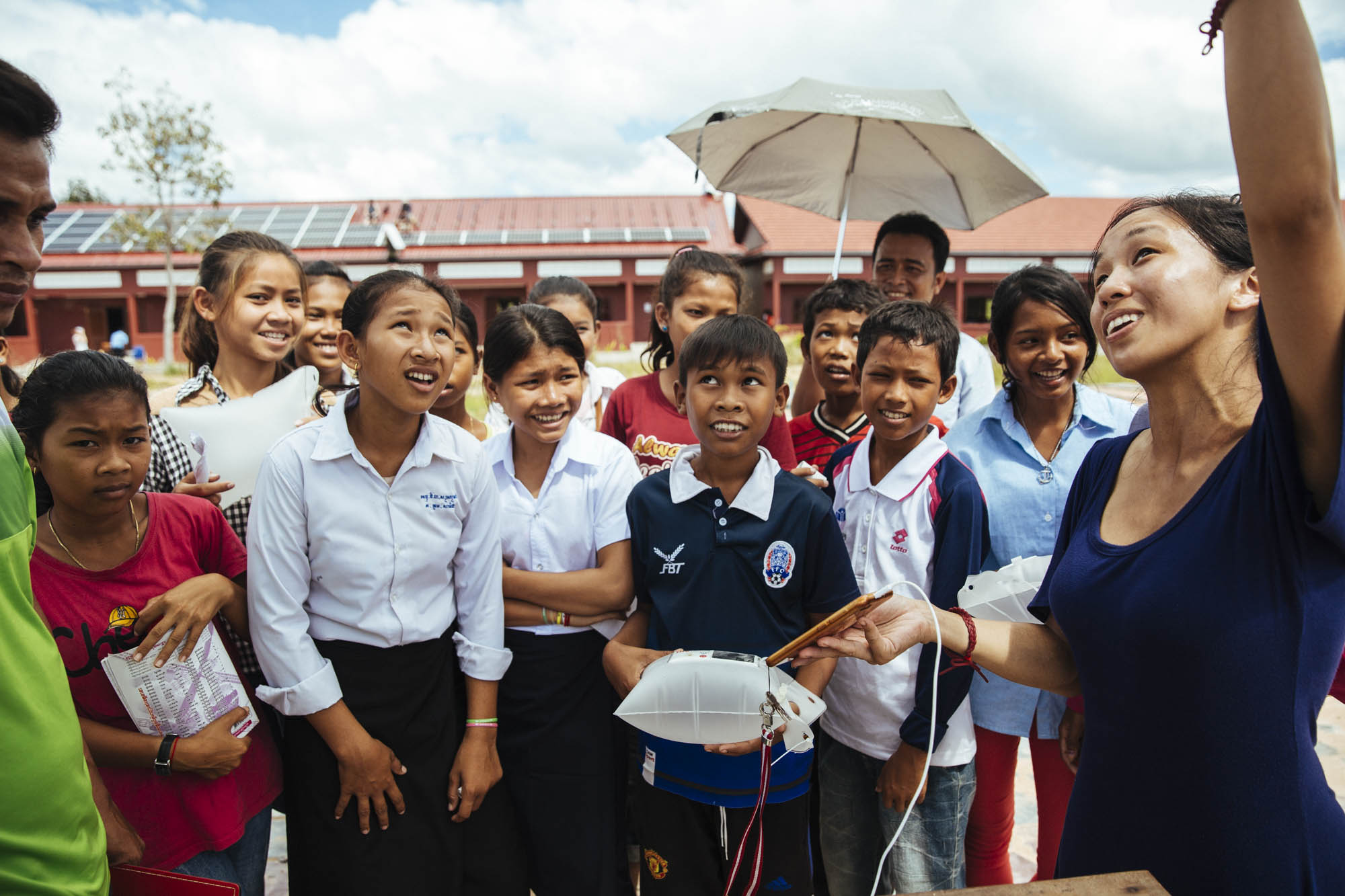 Twende Solar - 26kW Solar PV Installation - Stephen Mazujian Middle School - Siem Reap, Cambodia - Elemental Energy
