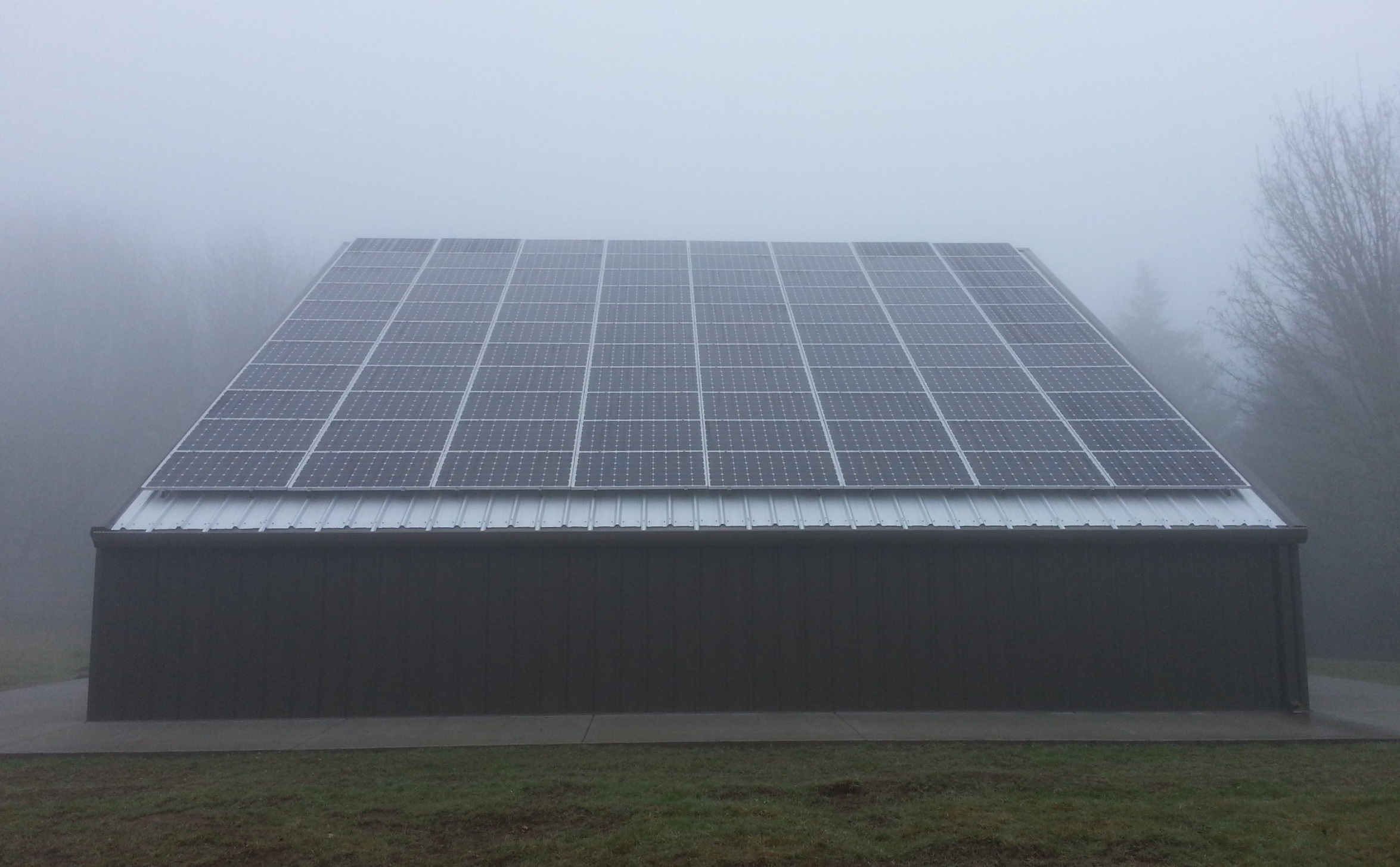 Pacific Northwest Solar Rain
