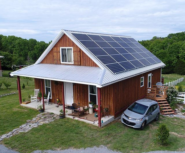 #solar + #ev = powering your home and your car with photons ☀️