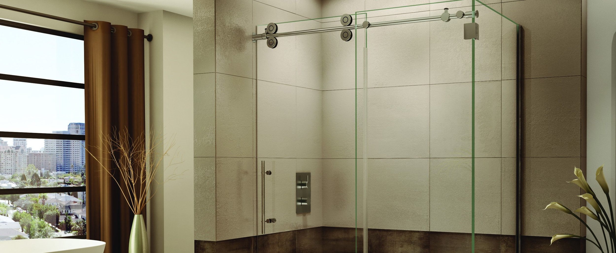 Shower Installations - Stamford Shower Glass & Mirror