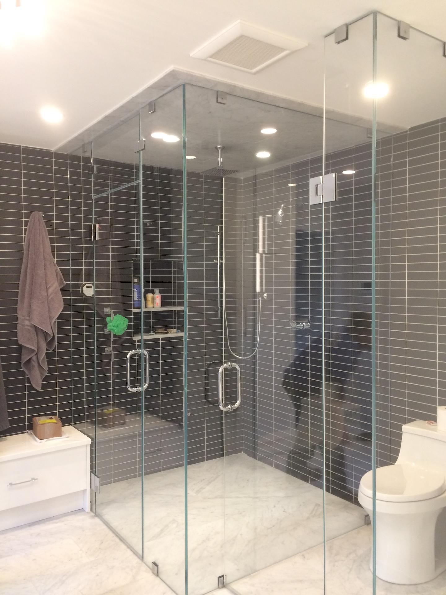 Shower Installations - Stamford Shower Glass & Mirror