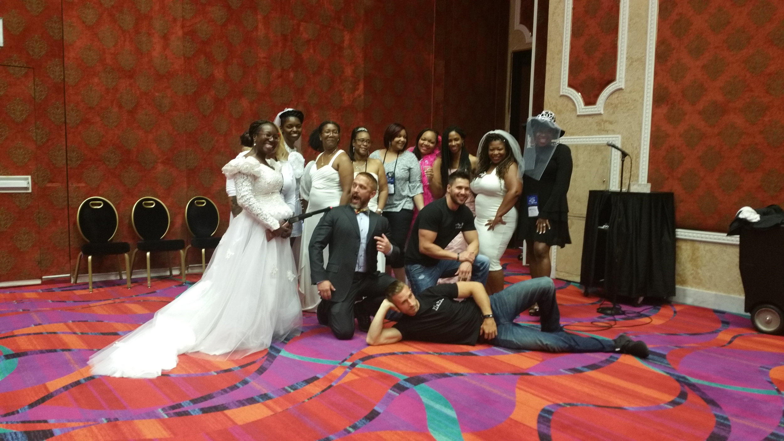 One my favorite events of the convention: Bridesmaids, Bachelors and Bubbly.