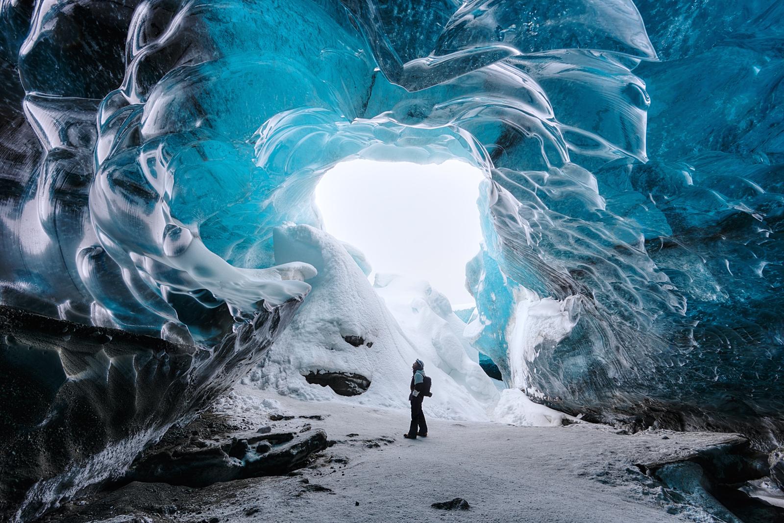 Vatnajökull Ice Cave, Iceland    Photograph by Shane Wheel