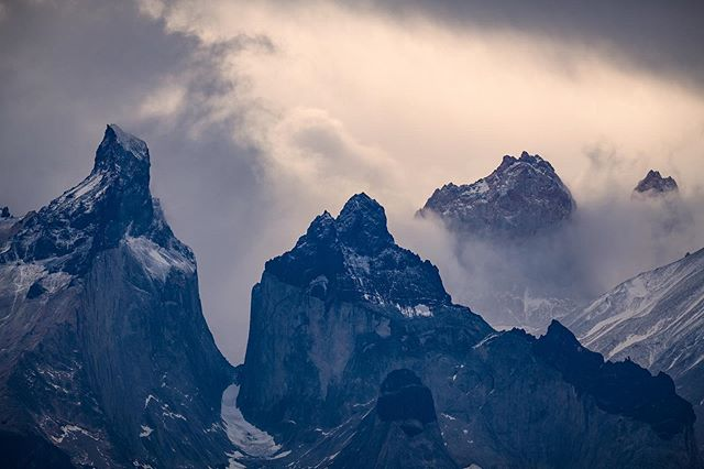 With its ever changing weather and atmosphere, I could stare at this mountain range all day.  #torresdelpaine #patagonia #patagoniachile #pocket_world #ig_landscape #dream_spots #visual_heaven #landscapephoto #landscape_lover #natgeoadventure #earthexperience #mthrworld #majestic_earth#igworldglobal #ilovenature #ig_divineshots #EarthOfficial #earth_shotz