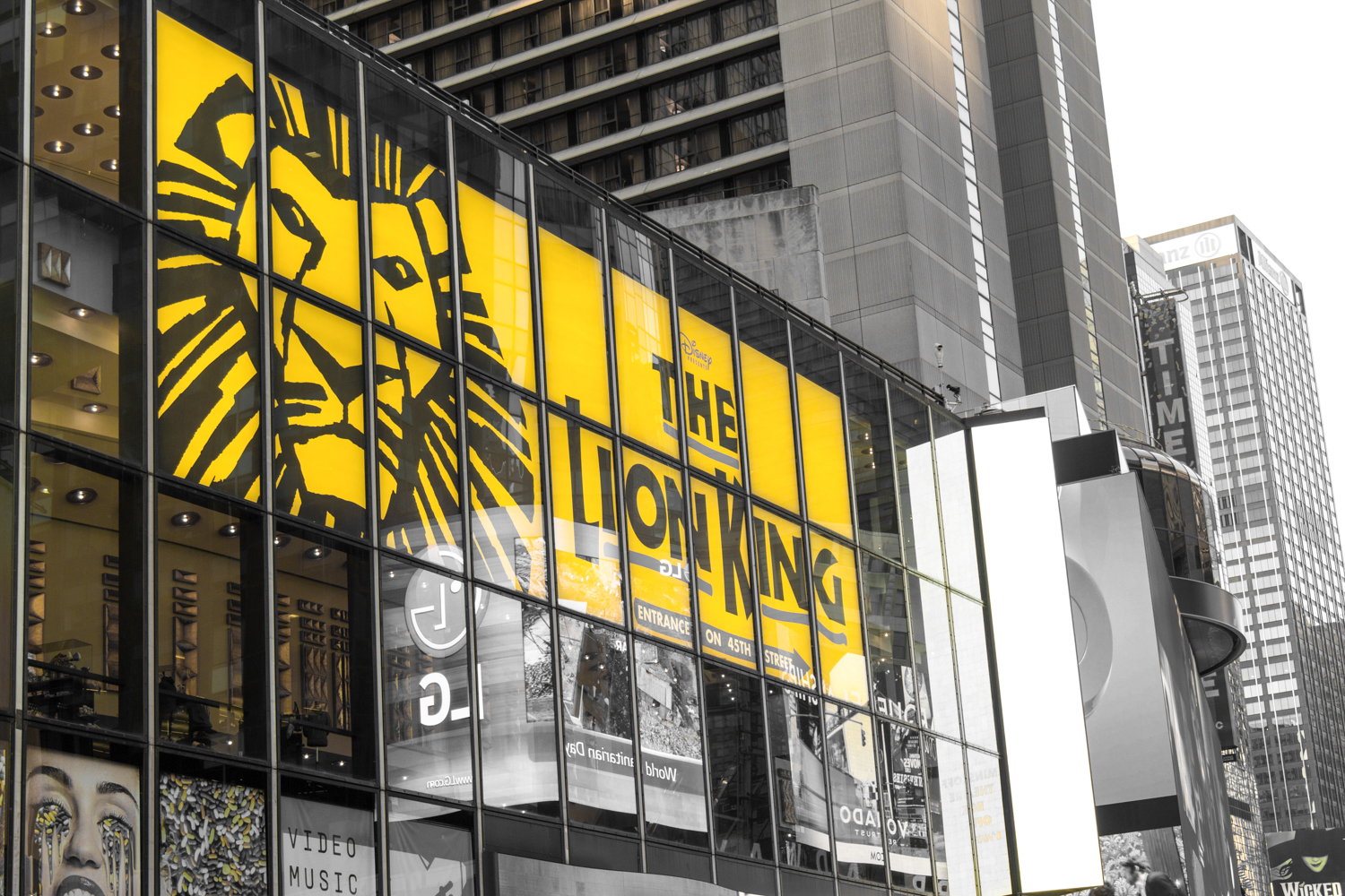 The Lion King Broadway musical!