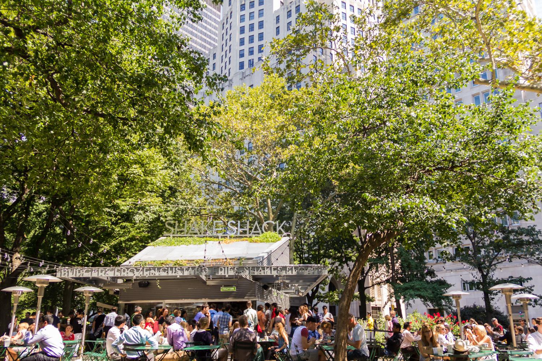 Shake Shack at Madison Square Park.