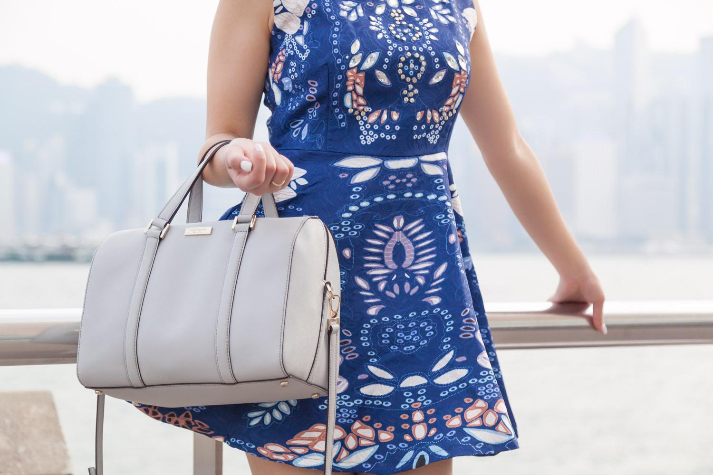 Kate Spade Crossbody Bag via The Chic Diary