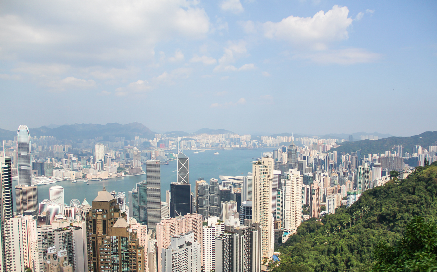 Victoria Peak - a breathtaking vista point on Hong Kong Island. Photo by DY