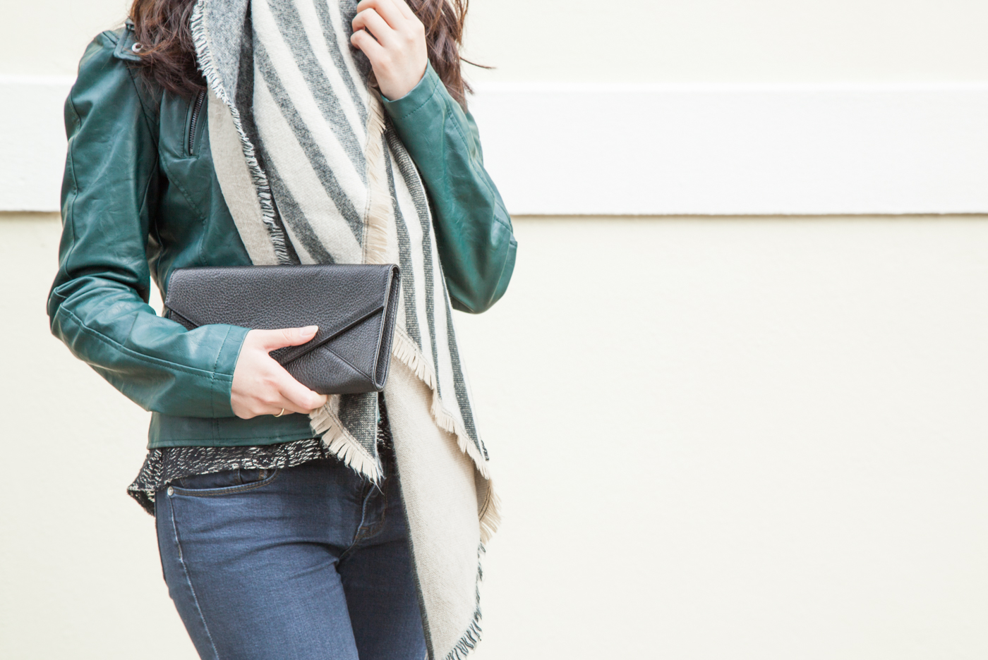 Oversized Blanket Scarf | via The Chic Diary