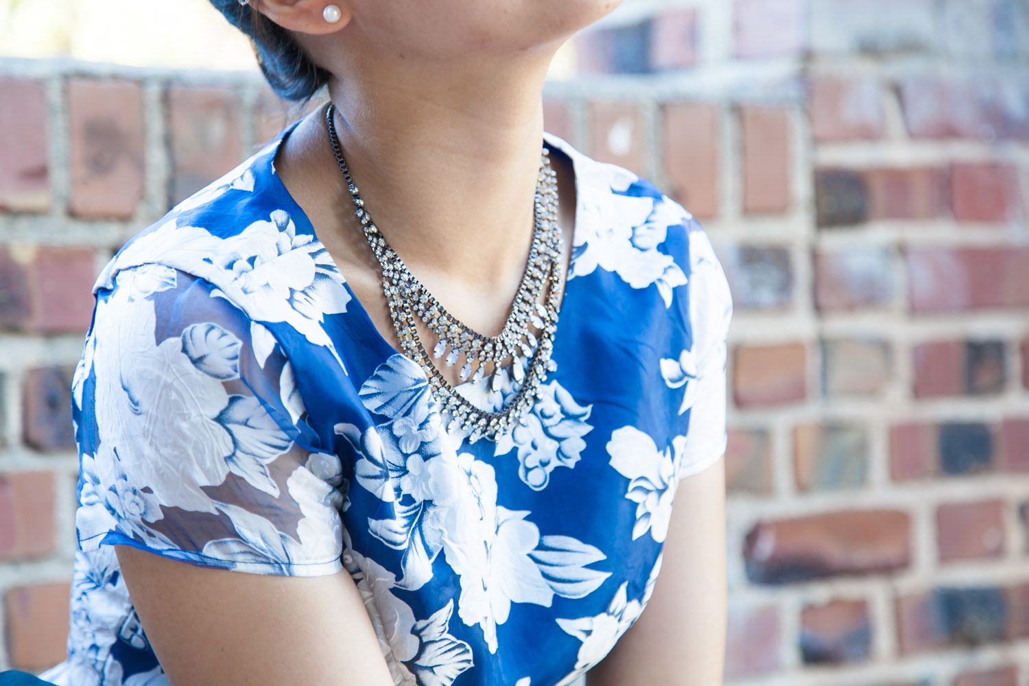 Sparkling Statement Necklace | via The Chic Diary