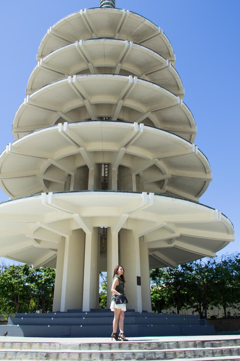 Japantown SF pagoda   via The Chic Diary