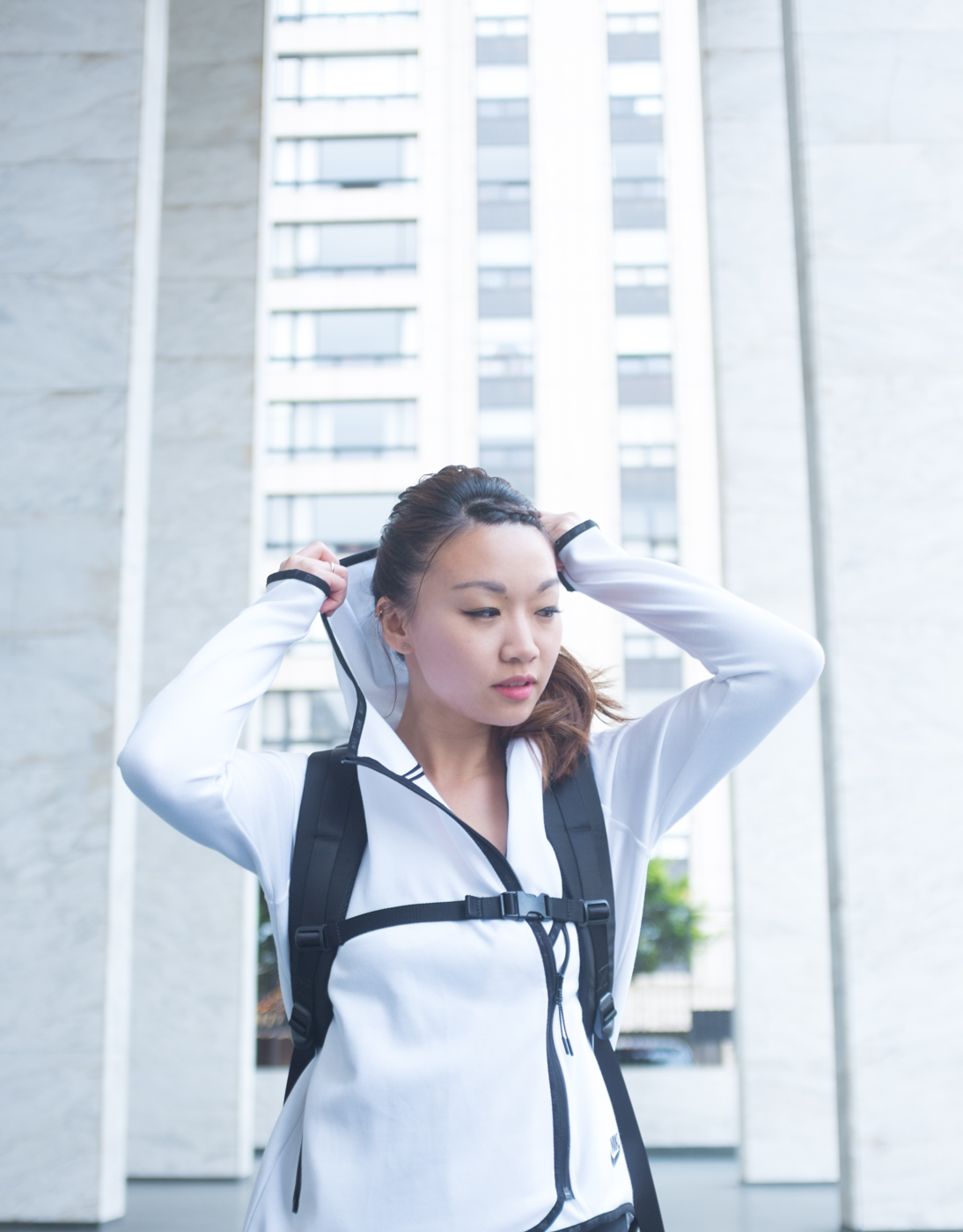 Aer Duffel Pack - carry your gym bag like a backpack! | via The Chic Diary