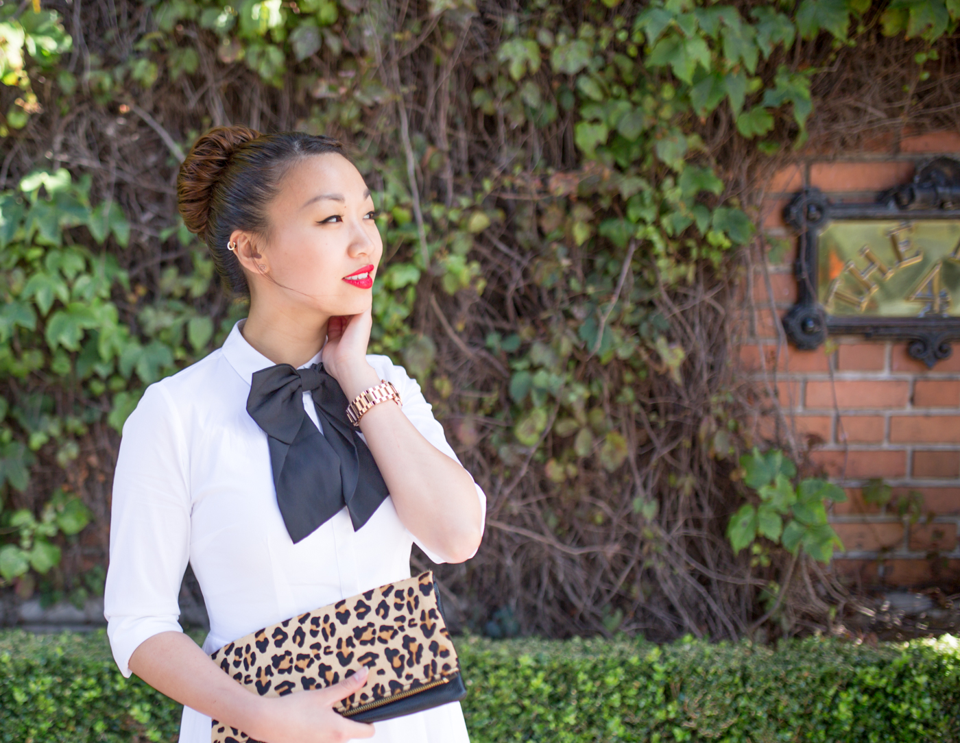 ASOS Oversized Bow Tie | via The Chic Diary
