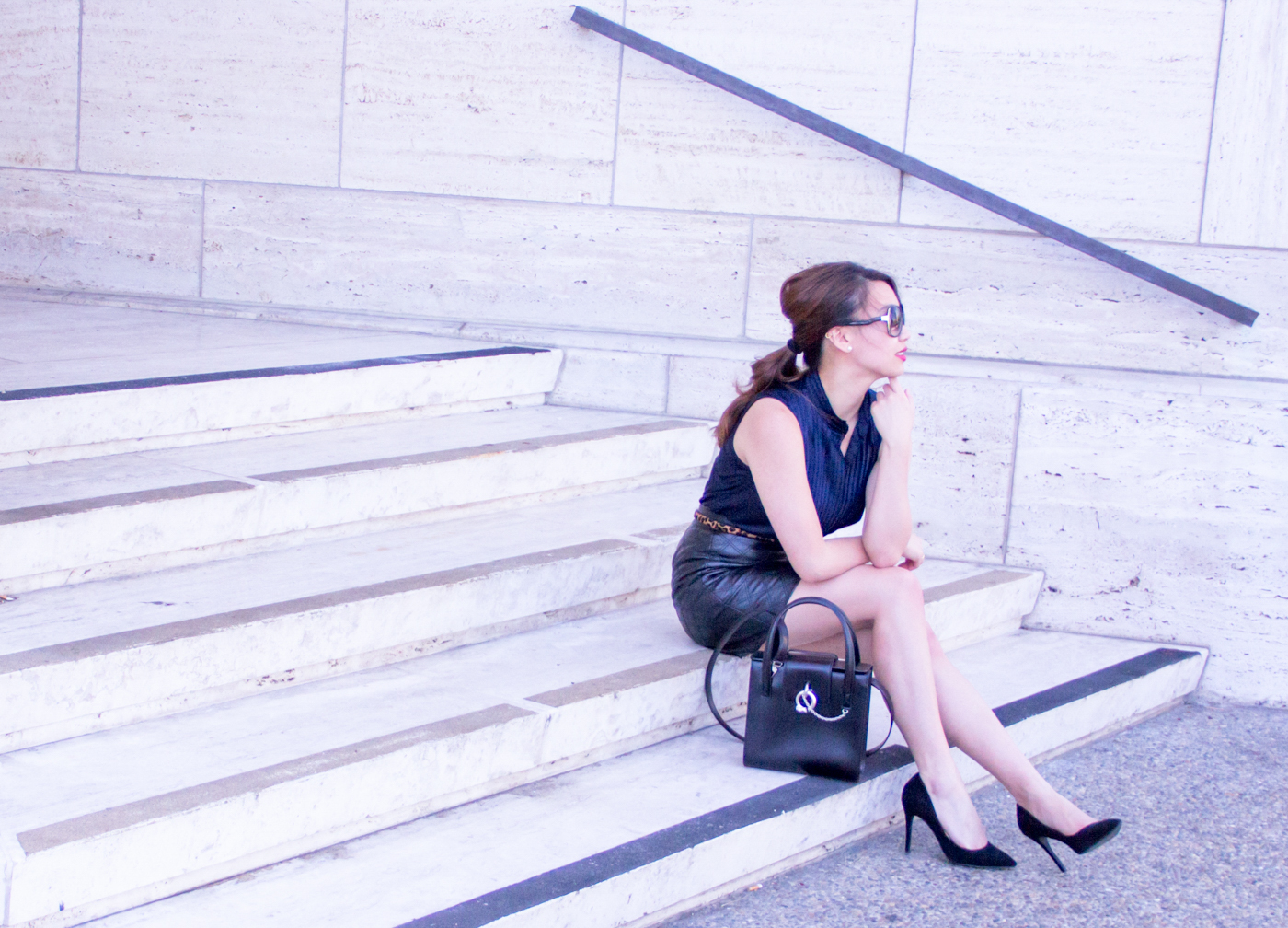 Feminine career wear   The Chic Diary