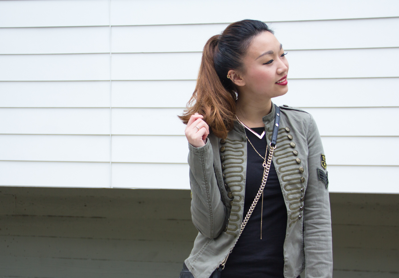 Only Band Jacket | The Chic Diary