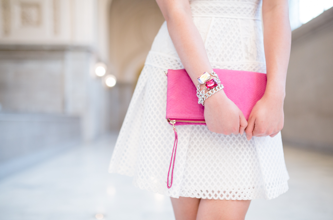Accessorize in pink | The Chic Diary