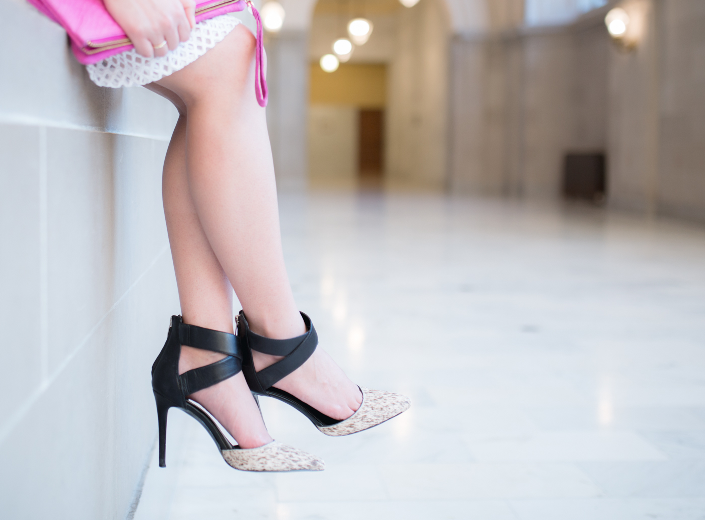 Enzo Anglioni D'Orsay Pumps | The Chic Diary