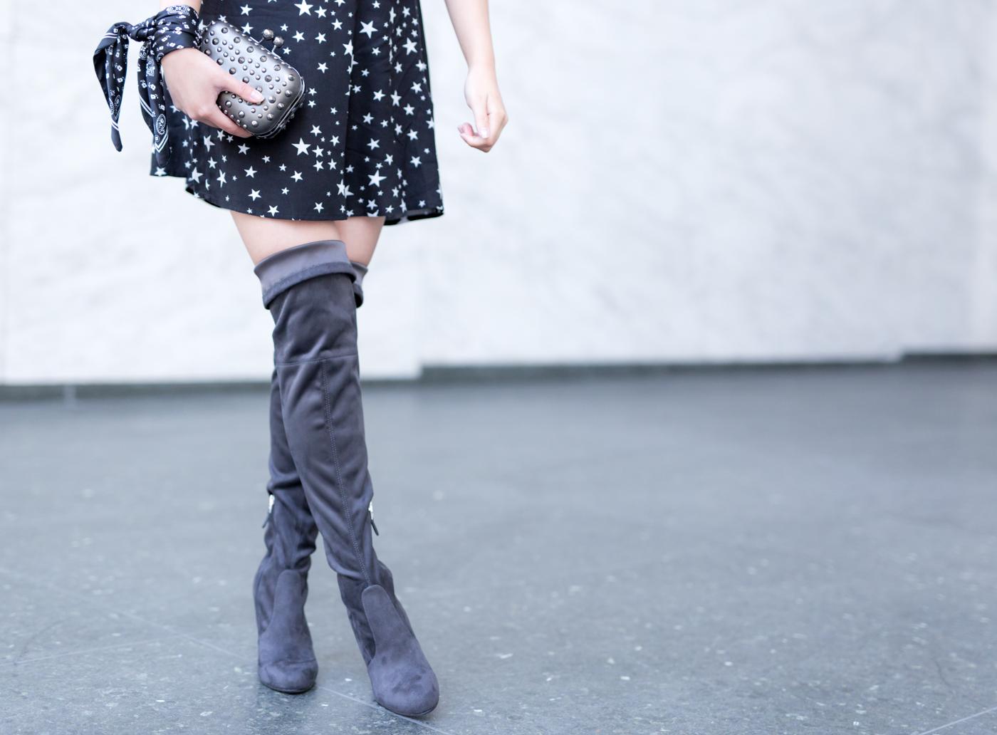 Sam Edelman 'Kent OTK Boots | The Chic Diary