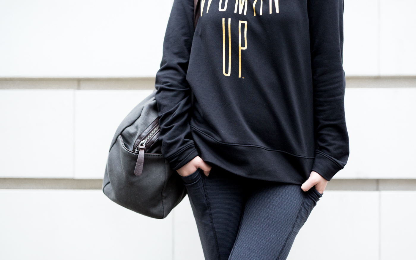 Lucy Power Train Pocket Legging | The Chic Diary