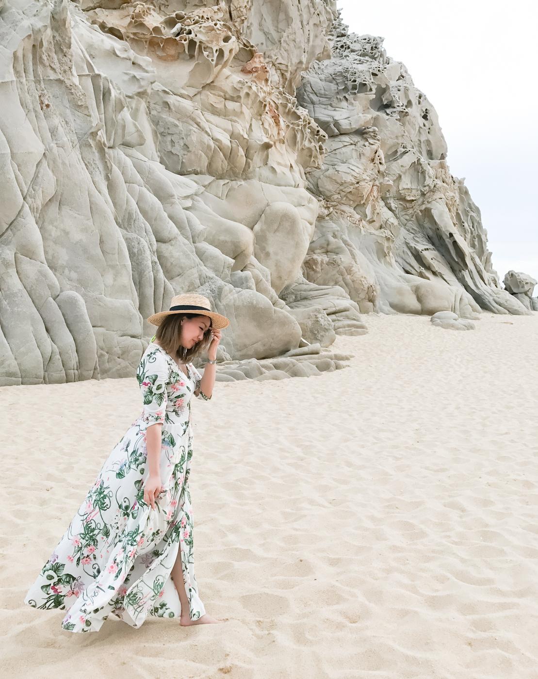 ShowPo White Floral Maxi Dress | The Chic Diary