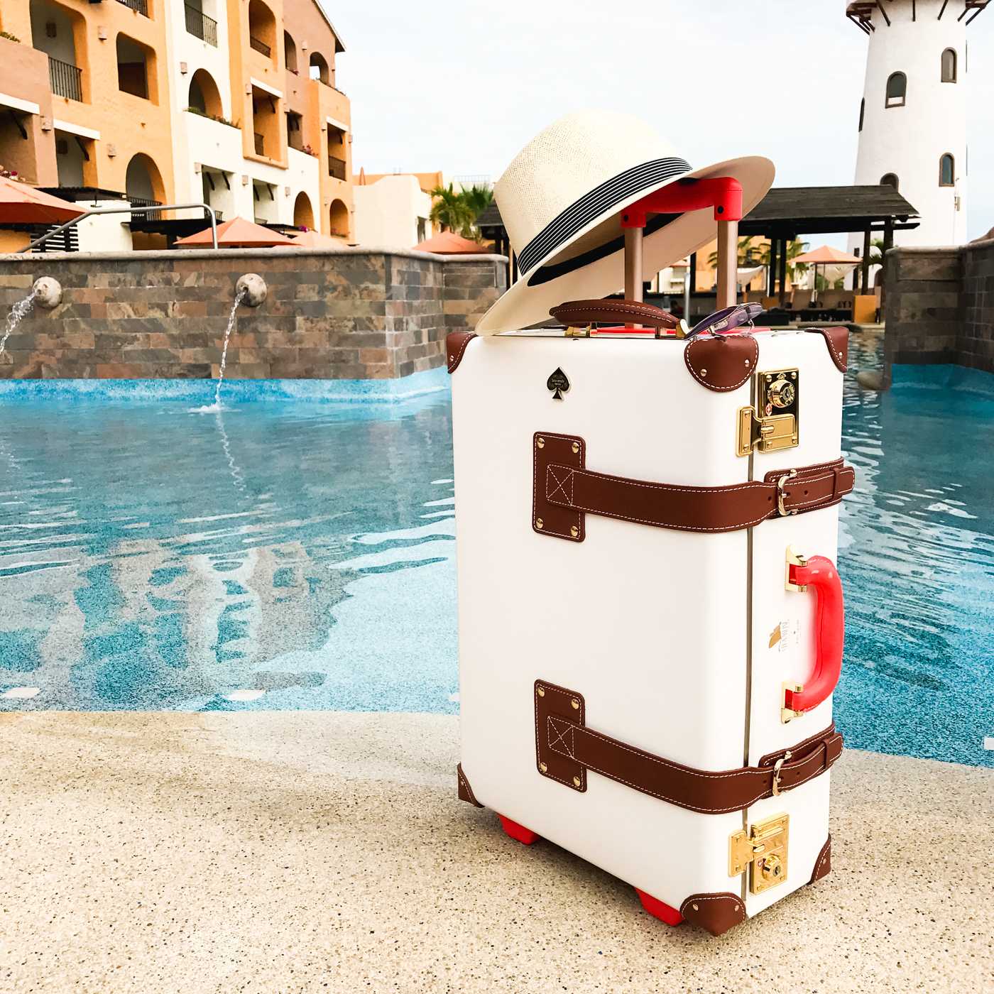 Steamline Luggage New Yorker Carryon | The Chic Diary