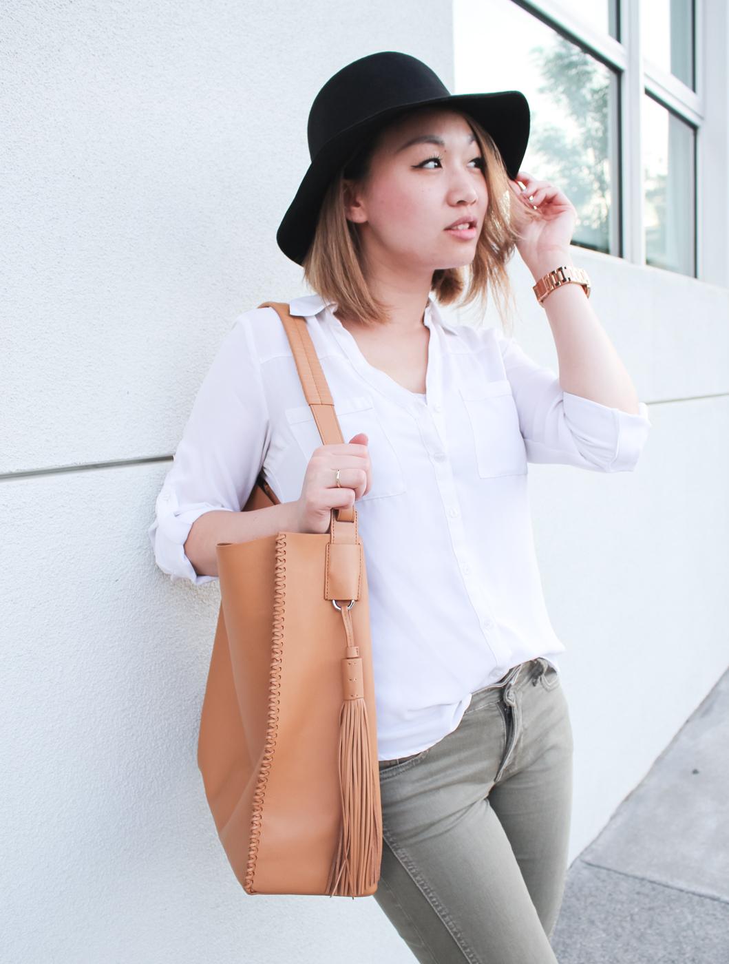 Express Portofino Shirt | The Chic Diary