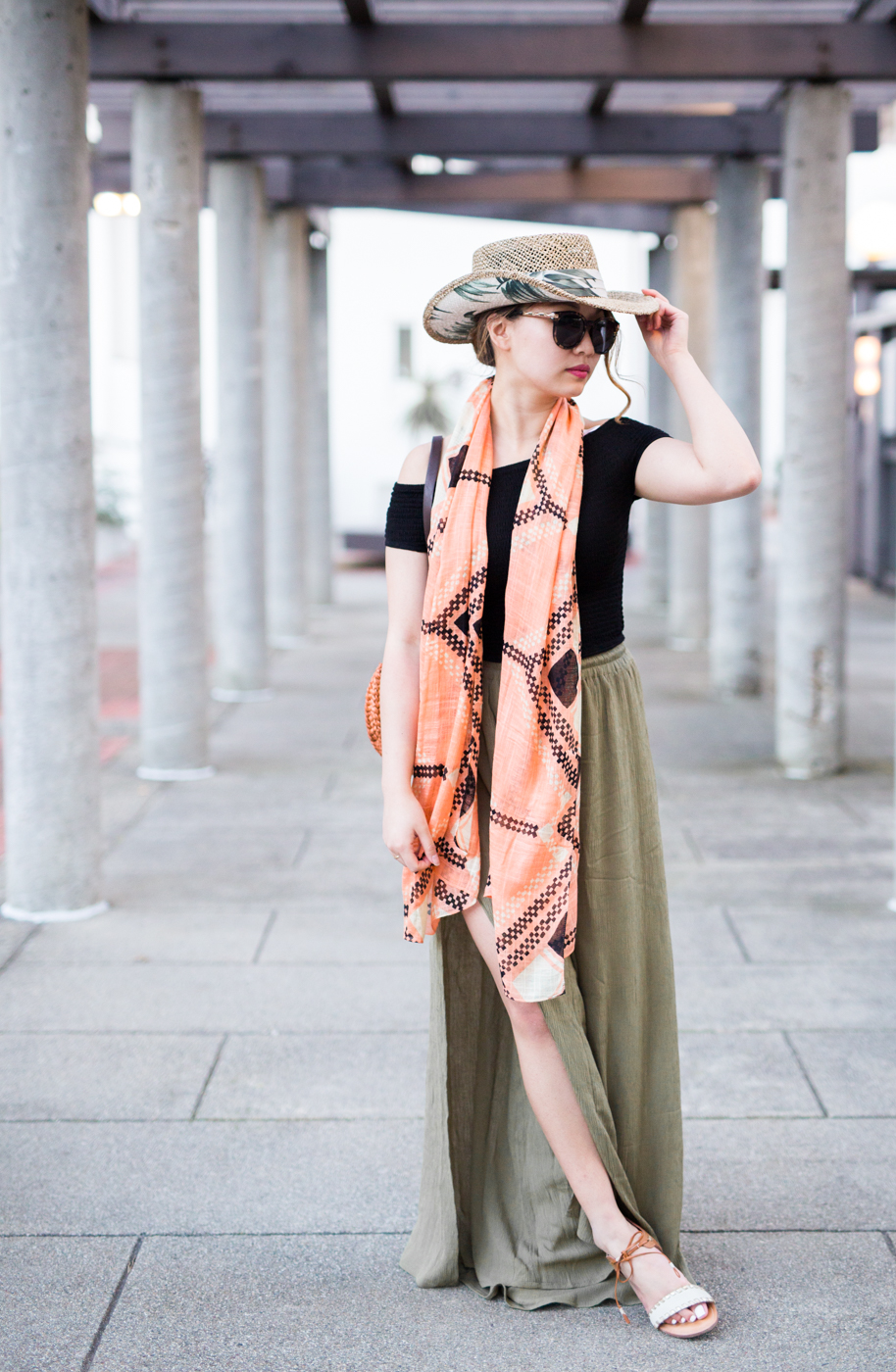 Vacay Style with Forever21 Palazzo Pants | The Chic Diary