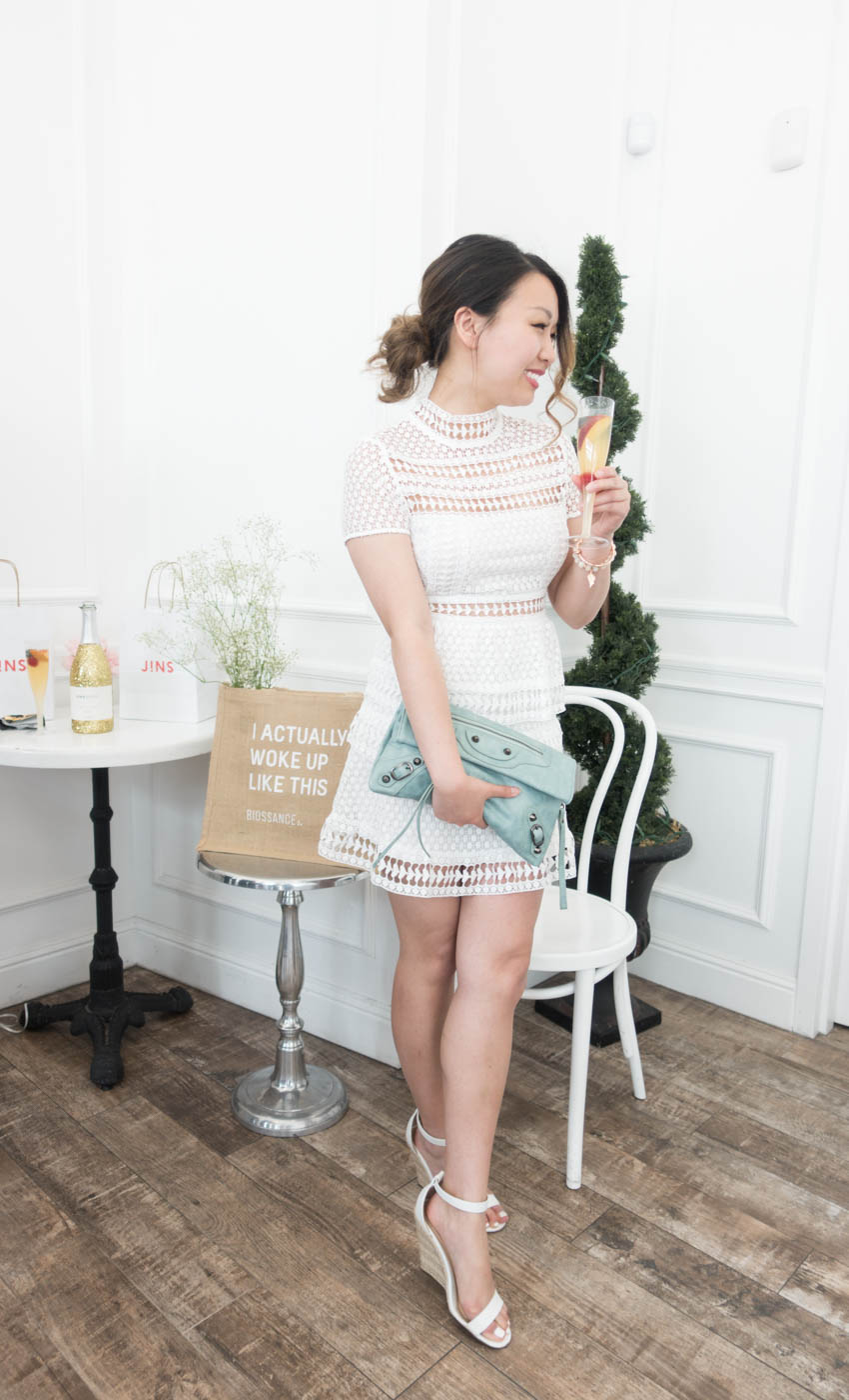 Tobi Sincerely Yours Lace Dress - White | The Chic Diary