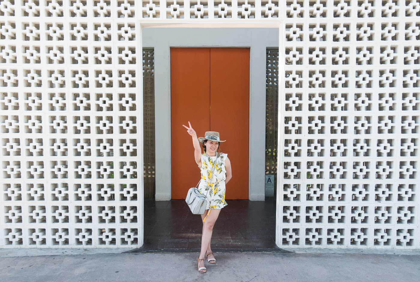 The Parker Hotel Orange Door | The Chic Diary