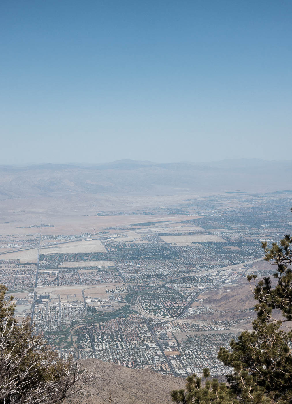 View at the top after riding the Palm Springs aerial tramway! | The Chic Diary.jpg